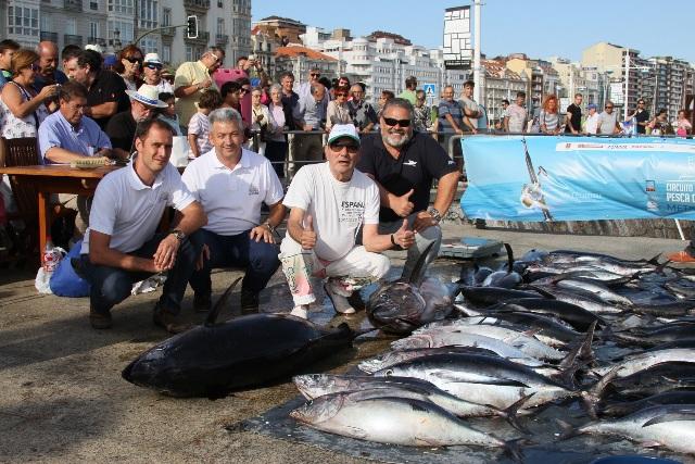 Trofeo Ciudad de Santander, éxito de participación, buena pesca e inmejorable ambiente