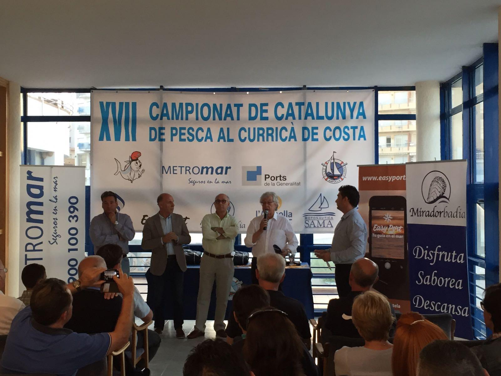 Luco se impone en el XVII Campeonato de Cataluña de Pesca al Curricán de Costa-Gran Premio Metromar